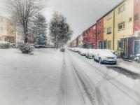 Winteridylle in der May-Siedlung - Damaschkeanger