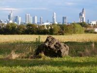 Skylineblick von Praunheim