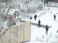 Erste Schneefreuden im Dezember 2017